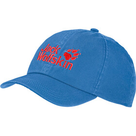 Jack Wolfskin Baseball Cap Kids wave blue